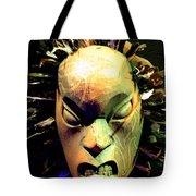 Maori Mask Two Tote Bag