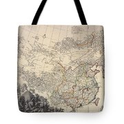 Map Of China, 1734 Tote Bag