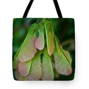 Maple Seed Tote Bag