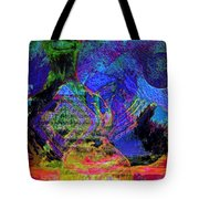 Mapped In Time  Pottery Collection Tote Bag