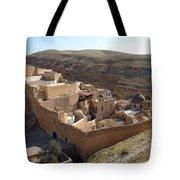 Mar Saba Monastery Tote Bag