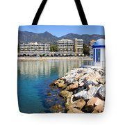 Marbella Bay Tote Bag
