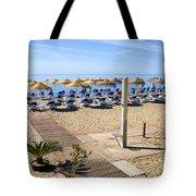 Marbella Holiday Beach Tote Bag