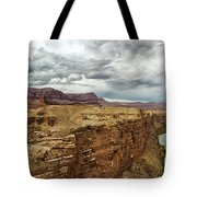 Marble Canyon Overlook Tote Bag