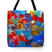 Marble Collection Abstract Tote Bag