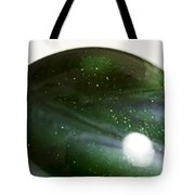 Marble Green Onion Skin 3 Tote Bag