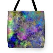 Marbled Clouds Tote Bag