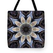 Marbled Mandala - Abstract Art Tote Bag