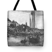 Marblehead: Fishing Boats Tote Bag