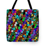 Marbles..or...gumballs Tote Bag