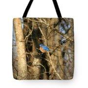 March Bluebird Tote Bag
