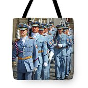 Marching Guards Tote Bag