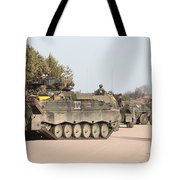 Marder Infantry Fighting Vehicles Tote Bag