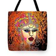 Mardi Gras Tote Bag by Natalie Holland