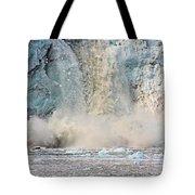 Margerie Glacier Calving Tote Bag