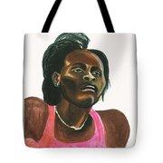 Maria Mutola Tote Bag