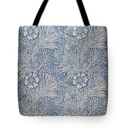 Marigold Wallpaper Design Tote Bag