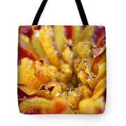 Marigold With Water Drops Tote Bag