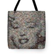 Marilyn Monroe Bubble Glass Mosaic Tote Bag