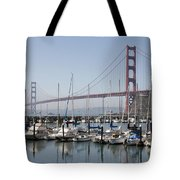 Marina At Golden Gate Tote Bag