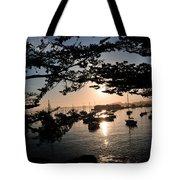 Marina At Sunrise Tote Bag