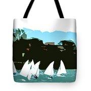 Marina Del Rey Tote Bag