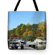 Marina In Fall Tote Bag