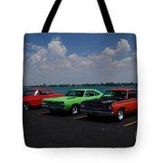 Marine City Car Show Tote Bag
