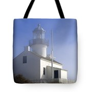 Marine Fog At Pt. Loma Tote Bag