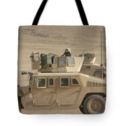 Marine Looks For Suspicious Activity Tote Bag