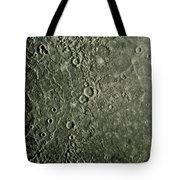 Mariner 10 Mosaic Of Mercury Showing Tote Bag