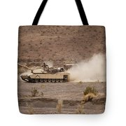 Marines Roll Through The Combat Center Tote Bag