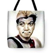 Mario Moreno As Cantinflas In El Bombero Atomico  Tote Bag