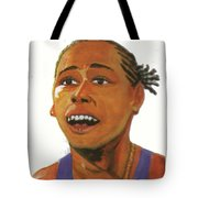 Marion Jones Tote Bag