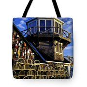 Maritime Lookout Acadia Maine Tote Bag
