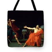 Marius At Minturnae Tote Bag by Jean-Germain Drouais