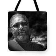 Mark In Monochrome Tote Bag