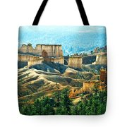 Markagunt Plateau In Zion National Tote Bag