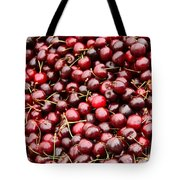 Market Cherries Tote Bag
