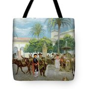 Market Day In Spain Tote Bag