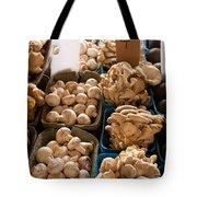 Market Mushrooms Tote Bag