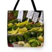 Market Peppers Tote Bag