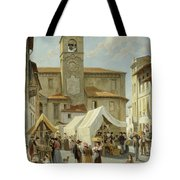 Marketday In Desanzano  Tote Bag