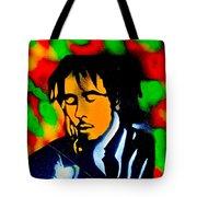Marley Rasta Guitar Tote Bag
