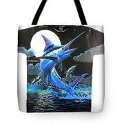 Marlin Moon Mens Shirt Tote Bag