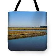 Marsh In Maine Tote Bag