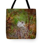 Marsh Spider Web Tote Bag