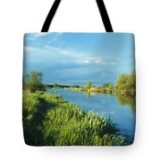 Marshlands In Spring, Unteres Odertal Tote Bag