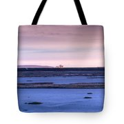 Martian Outpost Abandoned Zone Tote Bag