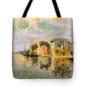 Martigues In The South Of France Tote Bag
